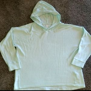 Old Navy light green waffle thermal top Xl